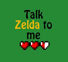 Talk Zelda to Me by SkylarJade