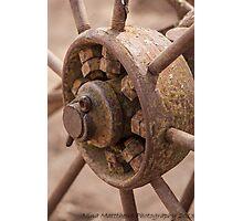 Wagon wheel ......... Photographic Print
