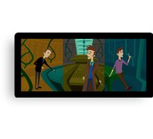 Inside The Tardis - Complete Collection Canvas Print