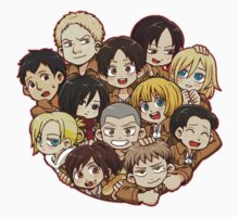 Shingeki no Kyojin 104th Trainee Squad by jessyAttano