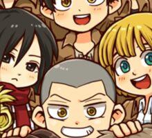 Shingeki no Kyojin 104th Trainee Squad Sticker