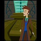 Inside The Tardis - David Tennant by Rechenmacher