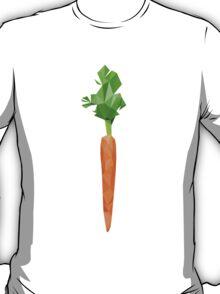Abstract polygonal Carrot T-Shirt