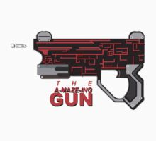 THE A-MAZE-ING GUN Kids Tee