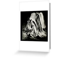 in the heart of the sea mobydick ilustration Greeting Card
