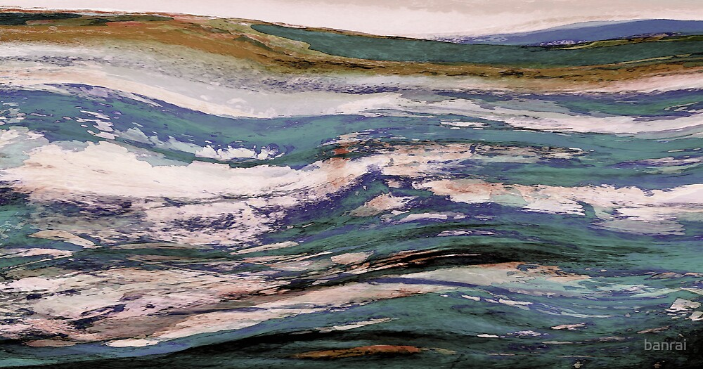 rollin blues.... when a river meets the sea by banrai