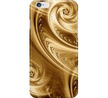 Golden Waves iPhone Case/Skin
