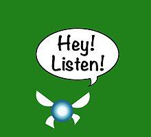 Hey!  Listen! by SkylarJade