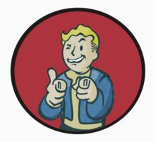 Fallout boy thumbs up by Missryerye