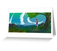 Worlds Away Greeting Card