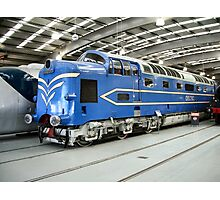 """""""Deltic"""" Diesel Electric Engine Photographic Print"""