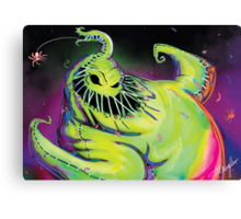 Oogie Boogie Canvas Print
