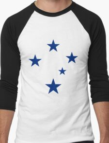 Southern Cross (Blue Stars) Men's Baseball ¾ T-Shirt