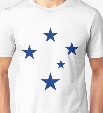 Southern Cross (Blue Stars) Unisex T-Shirt