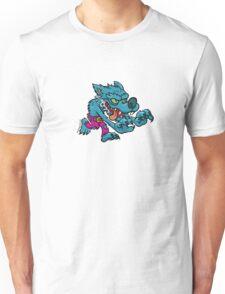 Werewolf - Electric Blue Unisex T-Shirt