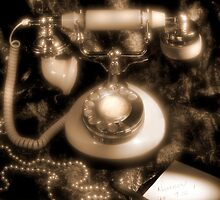 Princess Rotary Dial Phone by Mike  McGlothlen