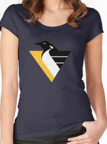 pittsburgh penguins Women's Fitted Scoop T-Shirt