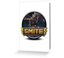 Smite Xbalanque Logo Greeting Card