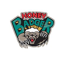 Honey Badger Mascot Front by patrimonio