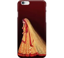 An Indian Bride iPhone Case/Skin