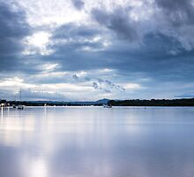 Dusk at Noosaville by Elizabeth Tunstall