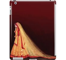 An Indian Bride iPad Case/Skin