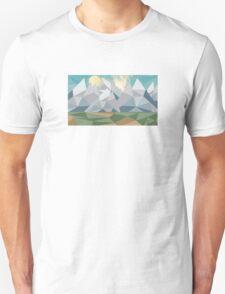 Geometric Landscape T-Shirt