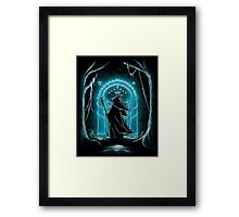 Speak Friend and Enter  - Gandalf Framed Print