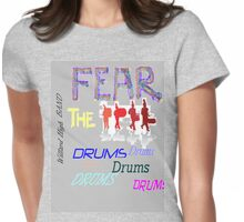 Band tee Womens Fitted T-Shirt