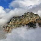 Reynolds Mountain at Logans Pass by Charles Kosina