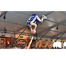 Crazy Dunkers Photographic Print
