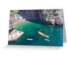 Praiano Pleasure Greeting Card