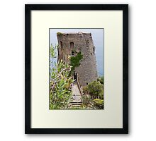 The Ancient Fortress Framed Print