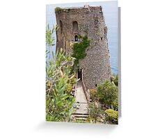 The Ancient Fortress Greeting Card