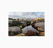 Rock Pools on top of Stanage Edge Unisex T-Shirt