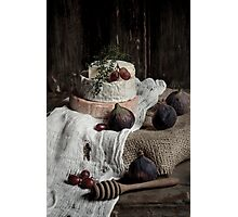 Still Life with Cheese Photographic Print