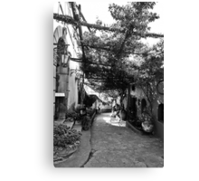Positano Alley Canvas Print