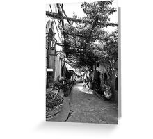 Positano Alley Greeting Card
