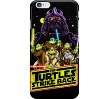 Turtles Strike Back iPhone Case/Skin
