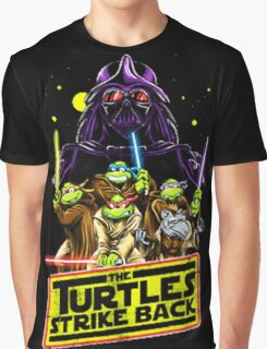 Turtles Strike Back Graphic T-Shirt