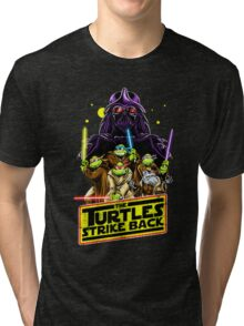 Turtles Strike Back Tri-blend T-Shirt