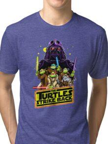 Turtles Strike Back Tri-blend T-Shirt