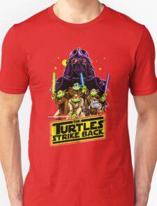 Turtles Strike Back Unisex T-Shirt