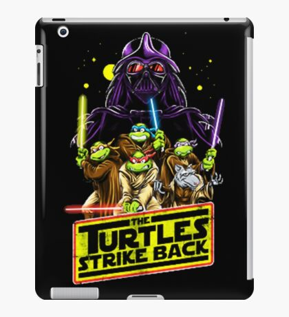 Turtles Strike Back iPad Case/Skin