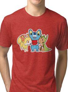 One Game, Three Possibilities Tri-blend T-Shirt