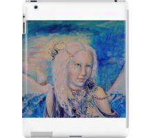 Blue Girl iPad Case/Skin
