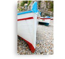 Praiano Boats Canvas Print