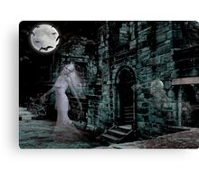 Past Midnight .. The lonely ghost Canvas Print