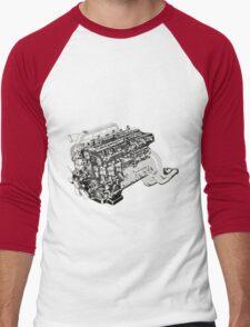 Heart of Gojira Men's Baseball ¾ T-Shirt