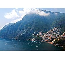 Beautiful Positano Photographic Print